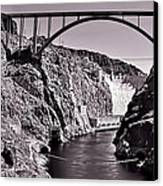 Hoover Dam Bridge Canvas Print by Andre Salvador
