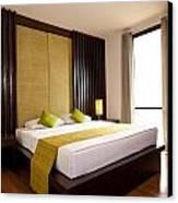 Hotel-room Canvas Print by Atiketta Sangasaeng