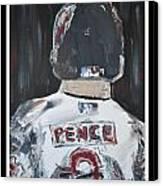 Hunter Pence Canvas Print by Leo Artist
