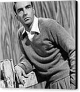 I Confess, Montgomery Clift, 1953 Canvas Print by Everett