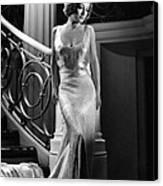 I Live My Life, Joan Crawford Wearing Canvas Print by Everett