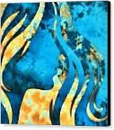 I Should Have Said Goodbye 2 Canvas Print by Angelina Vick