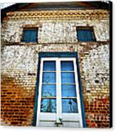 If Bricks Could Talk Canvas Print by Cheryl Young