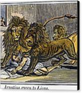 Ignatius Of Antioch (c35-110) Canvas Print by Granger