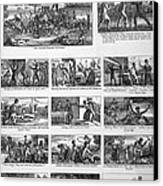 Illustrations Of The Antislavery Canvas Print by Everett
