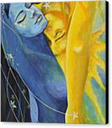 Ilusion From Impossible Love Series Canvas Print by Dorina  Costras