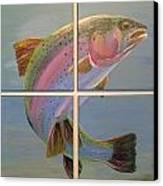 In Rainbows Canvas Print by Jennifer J Folsom