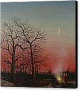 Incantations Of The Witch Canvas Print by Tom Shropshire