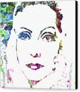 Ingrid Bergman  Canvas Print by Naxart Studio