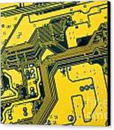 Integrated Circuit Canvas Print by Carlos Caetano