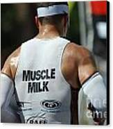 Ironman Muscle Milk Canvas Print by Bob Christopher