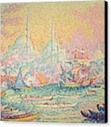Istanbul Canvas Print by Paul Signac