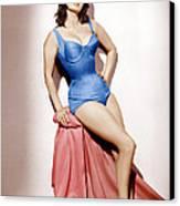 It Started In Naples, Sophia Loren, 1960 Canvas Print by Everett