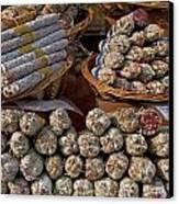 Italian Market Canvas Print by Joana Kruse