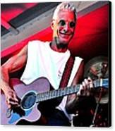 Jack Bordo With Old Friends Band Reunion 2010 Canvas Print by Mary Frances