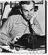 Jack Paar 1918-2004, American Radio Canvas Print by Everett