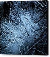 jammer Frozen Cosmos Canvas Print by First Star Art