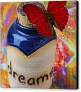 Jar Of Dreams Canvas Print by Garry Gay