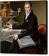 Jean-baptiste-claude Odiot Canvas Print by Robert Lefevre