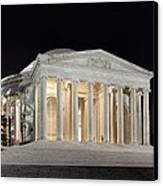 Jefferson Memorial Canvas Print by Metro DC Photography