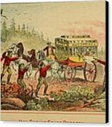 Jesse And Frank James, Cole, John Canvas Print by Everett