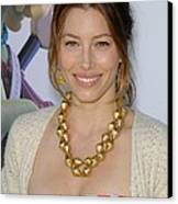 Jessica Biel At Arrivals For Planet 51 Canvas Print by Everett