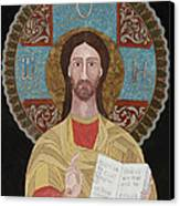 Jesus The Teacher Canvas Print by Claudia French