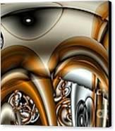 Jet Stream Canvas Print by Ron Bissett
