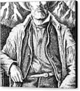 Jim Bridger Canvas Print by Gordon Punt