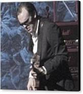 Joe Bonamassa Canvas Print by Todd Sherlock