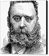 Johann Joseph Most Canvas Print by Granger