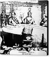 Johannes Hevelius, Polish Astronomer Canvas Print by Ria Novosti