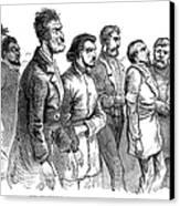 John Brown Trial, 1859 Canvas Print by Granger