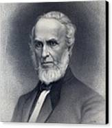 John Greenleaf Whittier 1807-1892 Canvas Print by Everett