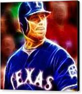 Josh Hamilton Magical Canvas Print by Paul Van Scott