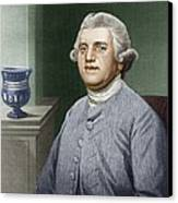 Josiah Wedgwood, British Industrialist Canvas Print by Sheila Terry