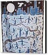 Joy Of Living Canvas Print by Rollin Kocsis