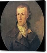 J.p. Brissot De Warville Canvas Print by Granger