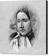 Julia Ward Howe (1819-1910) Canvas Print by Granger