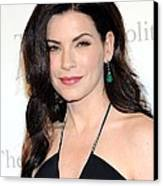 Julianna Margulies At Arrivals Canvas Print by Everett