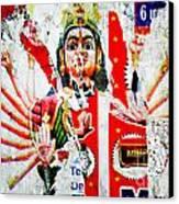 Kaliyuga Canvas Print by Dev Gogoi