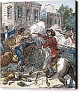 Kansas-nebraska Act, 1856 Canvas Print by Granger