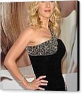 Kate Winslet Wearing A Balmain Dress Canvas Print by Everett