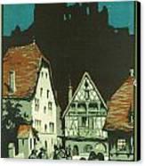 Kaysersberg Alsace Canvas Print by Georgia Fowler