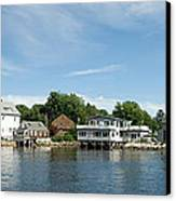 Kennebunkport Maine Canvas Print by Jim Chamberlain