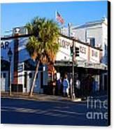 Key West Bar Sloppy Joes Canvas Print by Susanne Van Hulst