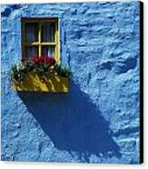 Kinsale, Co Cork, Ireland Cottage Window Canvas Print by The Irish Image Collection