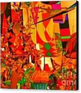 Kite Kafe Canvas Print by Julie Lueders