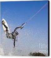 Kitesurfing Canvas Print by Hagai Nativ