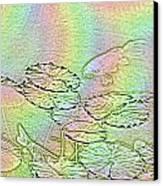 Koi Rainbow Canvas Print by Tim Allen